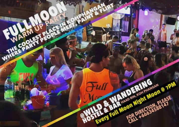 Rencontre LGBTQF Full Moon Party!