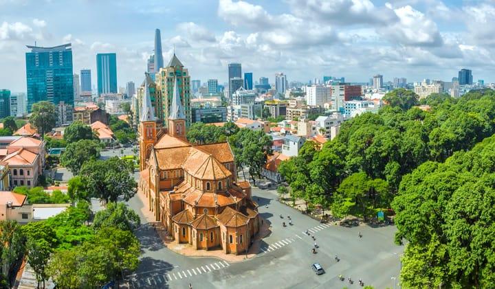Catherdal i Ho Chi Minh-byen