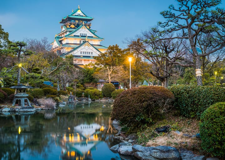 Κάστρο της Οζάκα Ιαπωνία