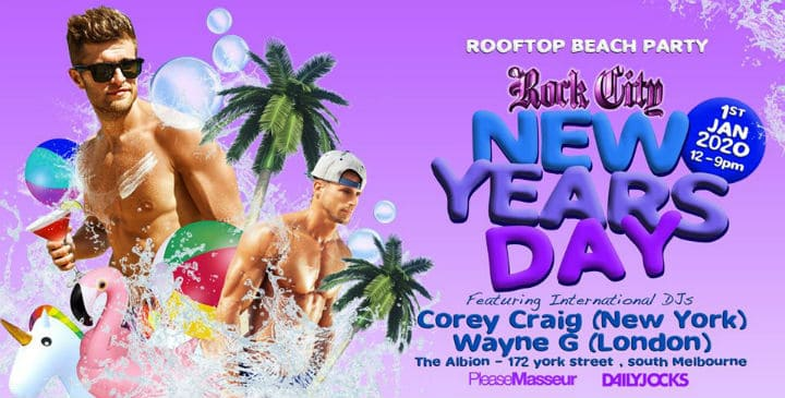 NYD Rooftop Party