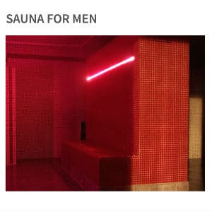 Sauna For Men - FERMÉ