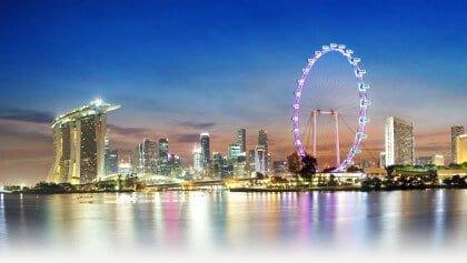 التجول في سنغافورة