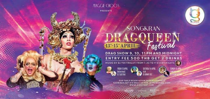 Festival Songkran DRAG QUEEN
