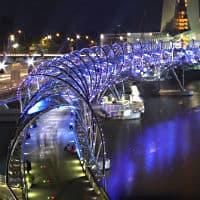 جسر اللولب