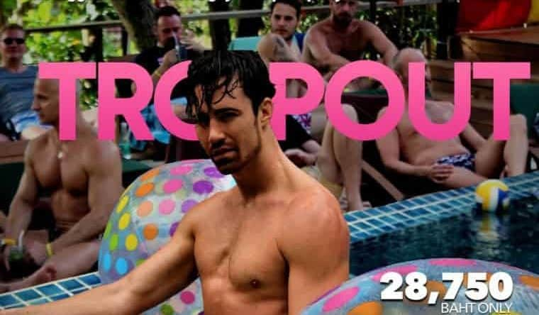 Fiesta en la piscina TropOut