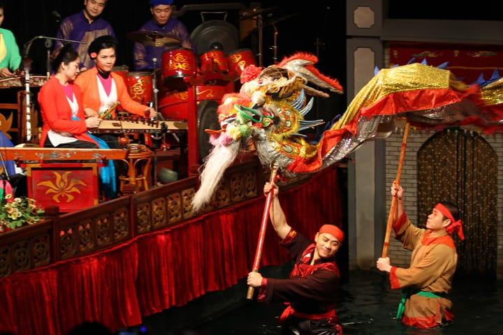 waterpuppet-θέατρο-Ανόι