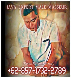 Java Expert Male Masseur