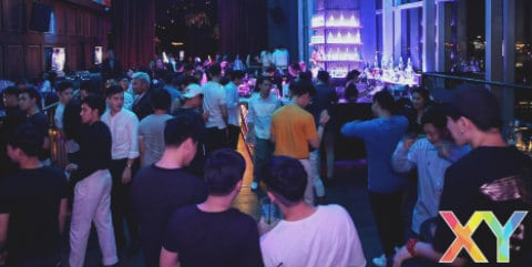 XY Gay Night @ CÉ LA VI (SIGNALÉ FERMÉ)