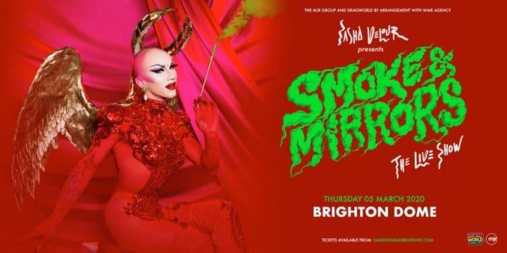 """Sasha Velour's """"Smoke & Mirrors"""" at Brighton Dome"""