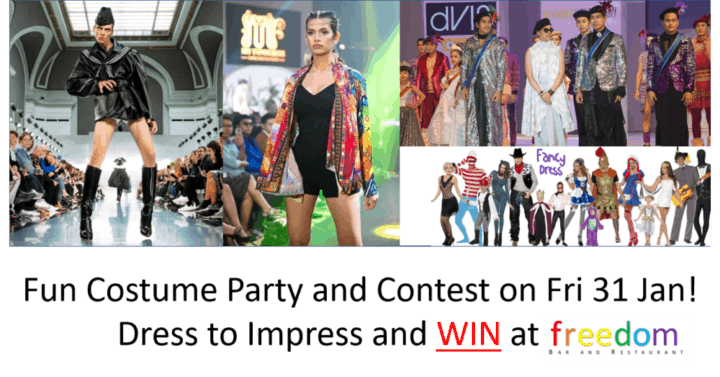 Fun Costume Party & Contest Fri 31 Jan 2020