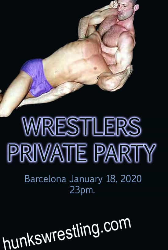 WRESTLERS PRIVATE PARTY
