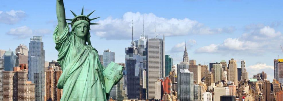 Gå til New York