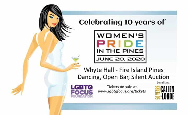 Women's Pride in the Pines: Join 400 LGBTQ women for a fun day