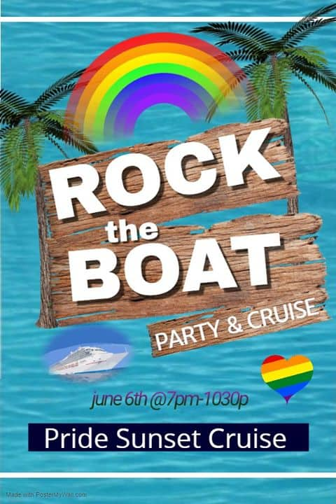 Rock the Boat Pride Sunset Cruise