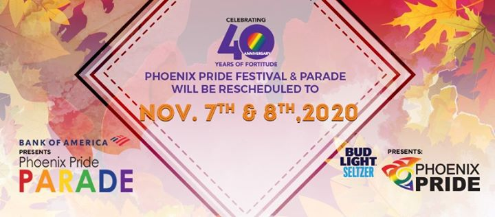2020 Phoenix Pride Parade (RESCHEDULED)