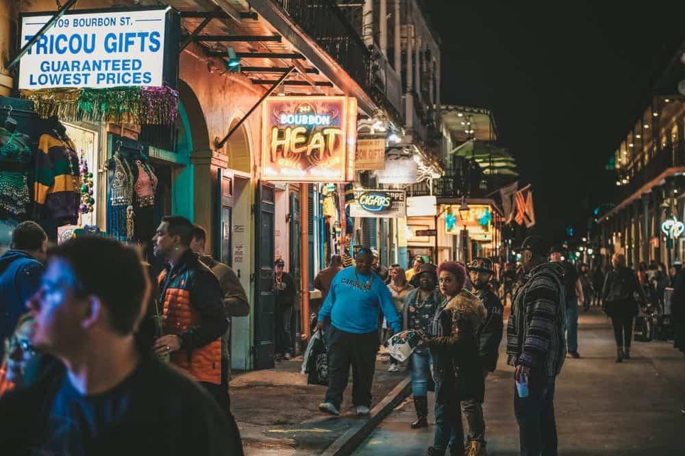 Gå til New Orleans