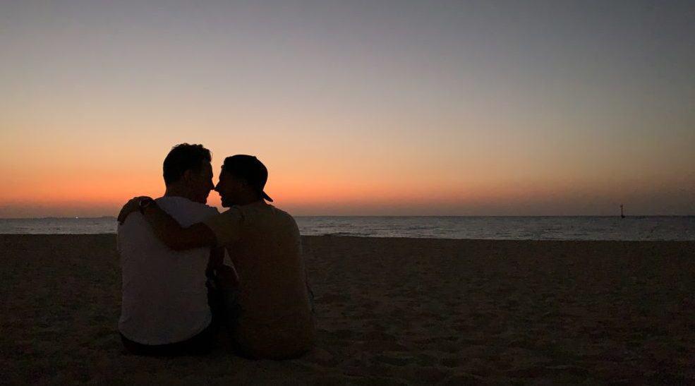 Homoseksuelle par i Dubai