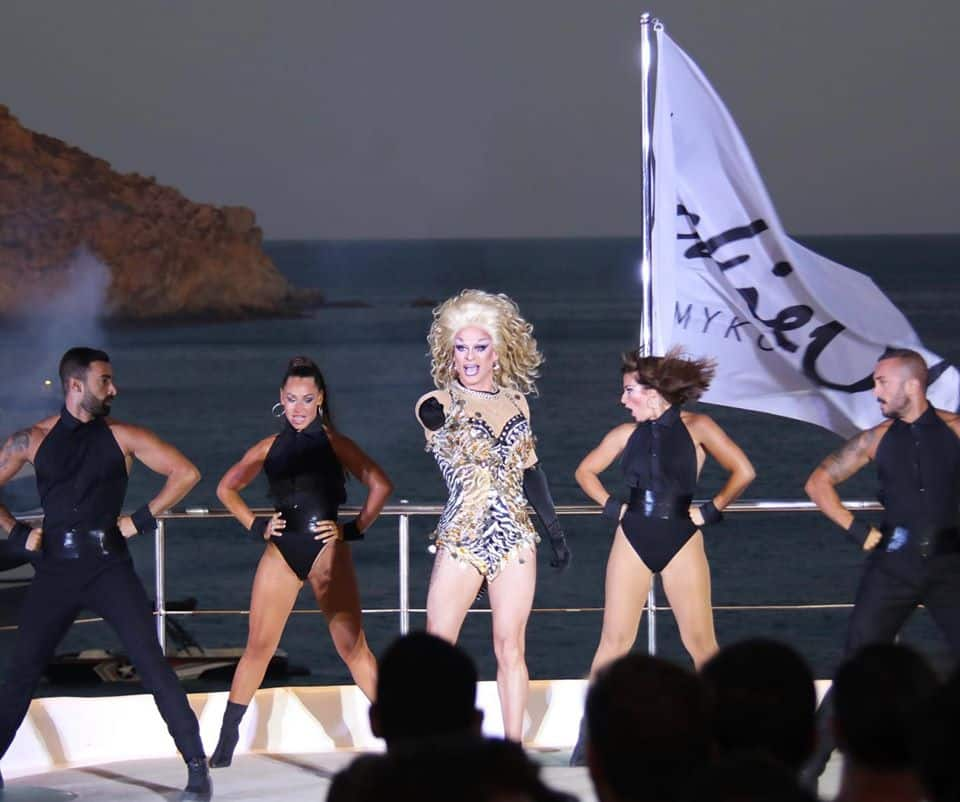 Gay Mykonos · Kelab Pantai