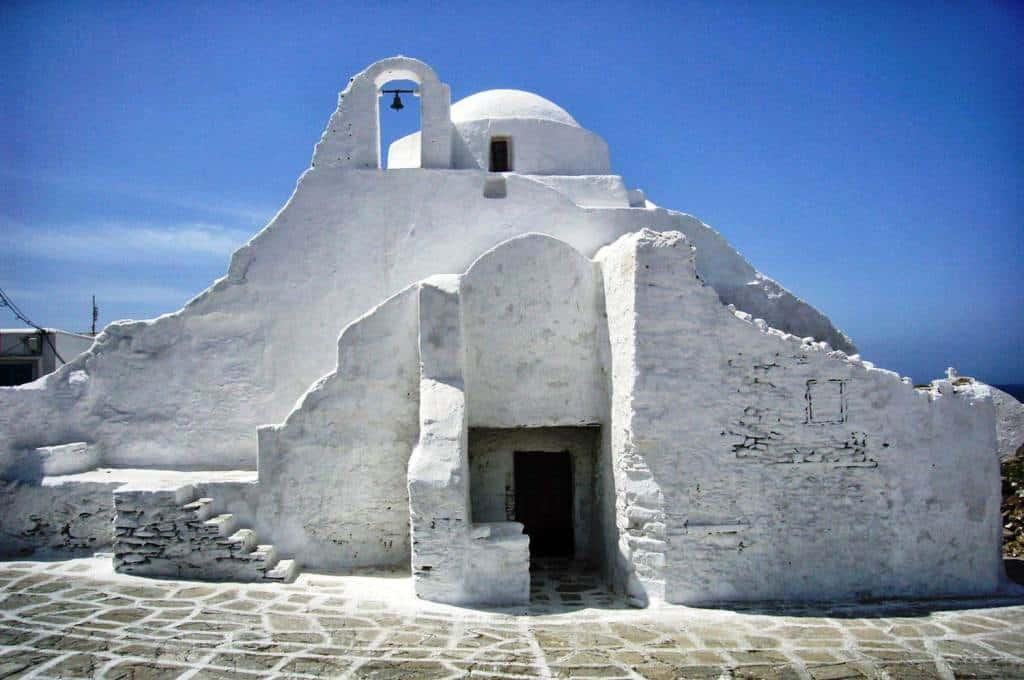 โบสถ์ Paraportiani Orthodox