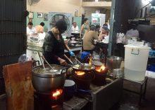 Comida callejera de Samran Rat