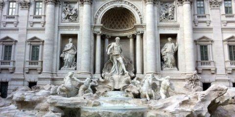 Der Trevi-Brunnen