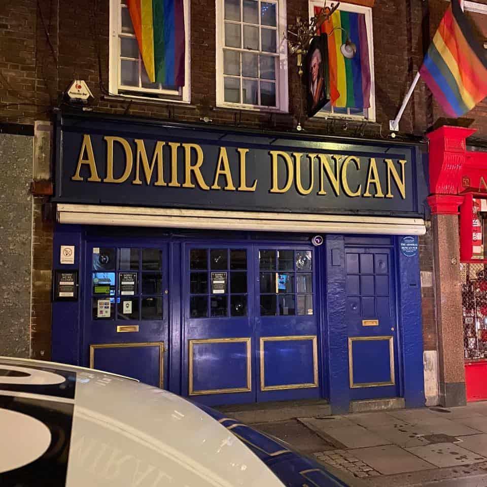 Punti di riferimento LGBT + a Londra
