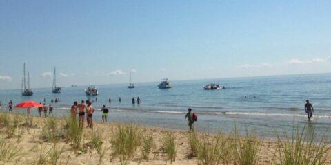男孩海滩普罗温斯敦