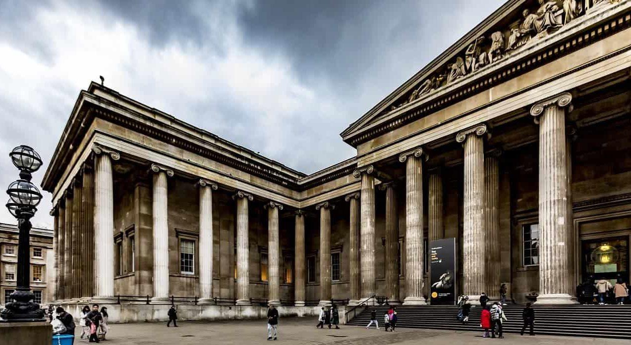 المتحف البريطاني من أفضل المتاحف في لندن