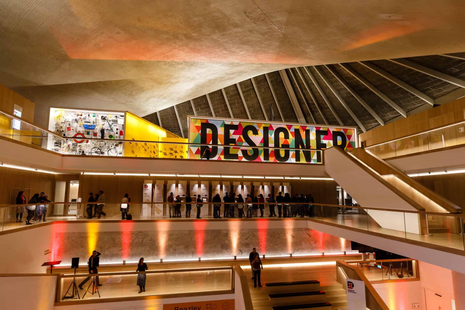متحف التصميم ، أحد أفضل المتاحف في لندن