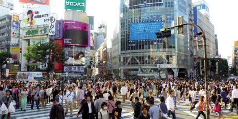 涩谷十字路口