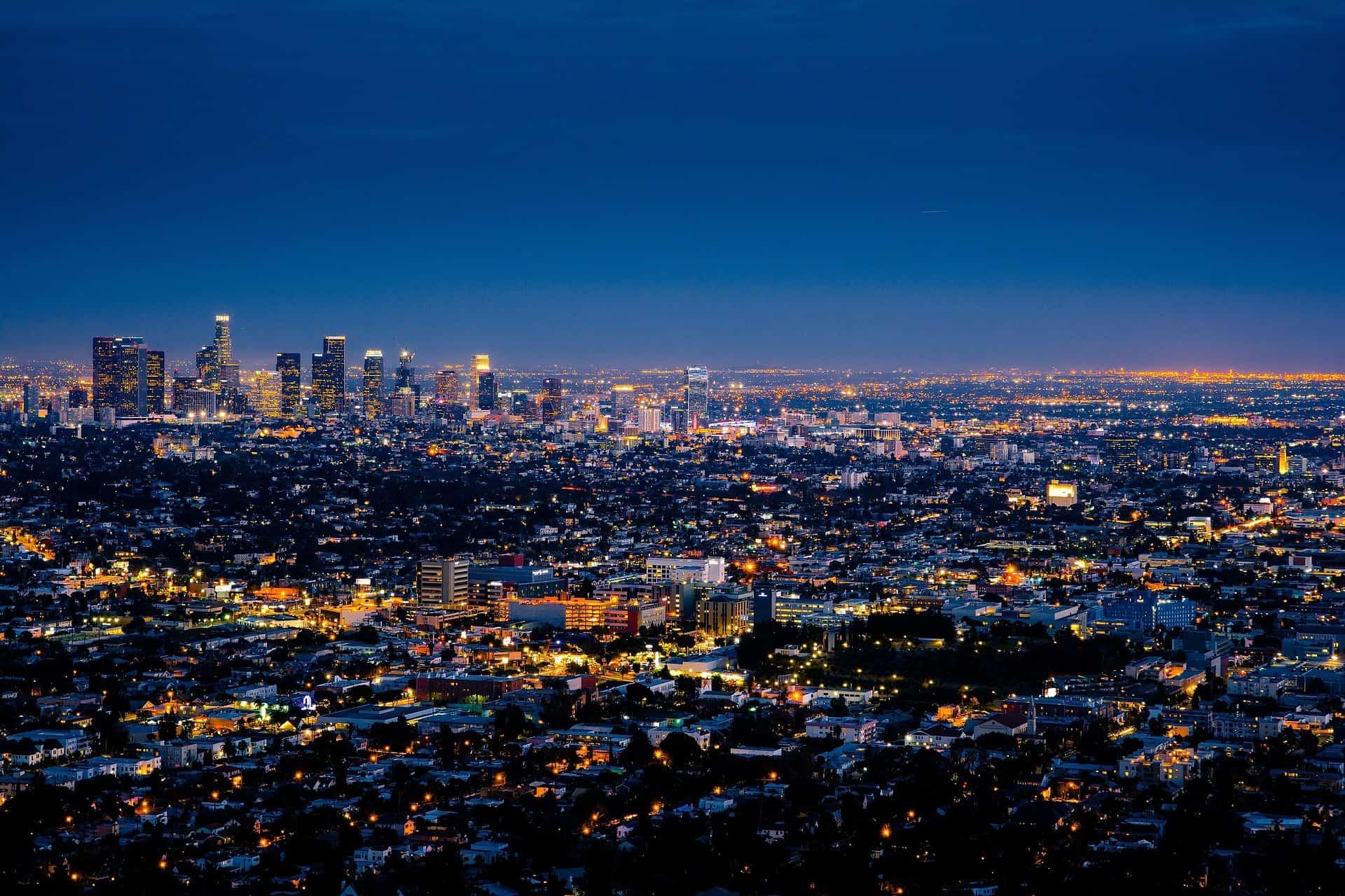 Γκέι χάρτη του Λος Άντζελες