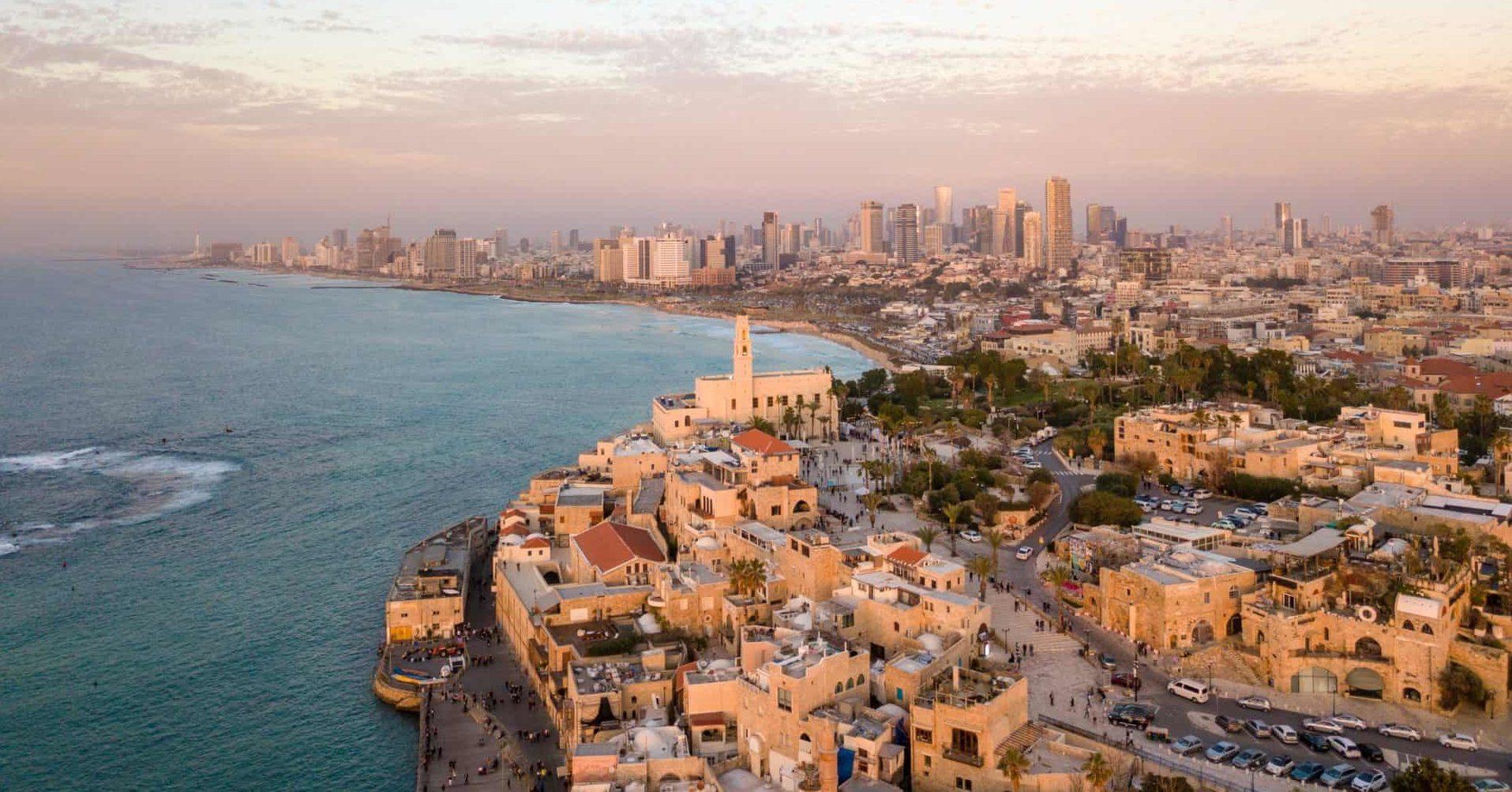Lo skyline di Tel Aviv
