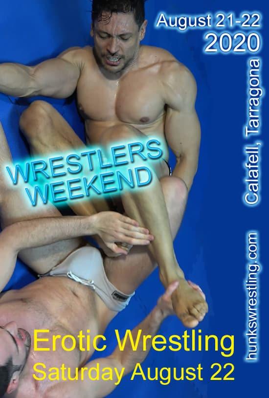 Wrestlers Weekend – Erotic Wrestling