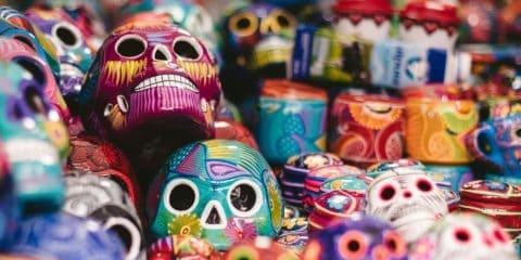 Mexiko-Stadt - Tag der Toten