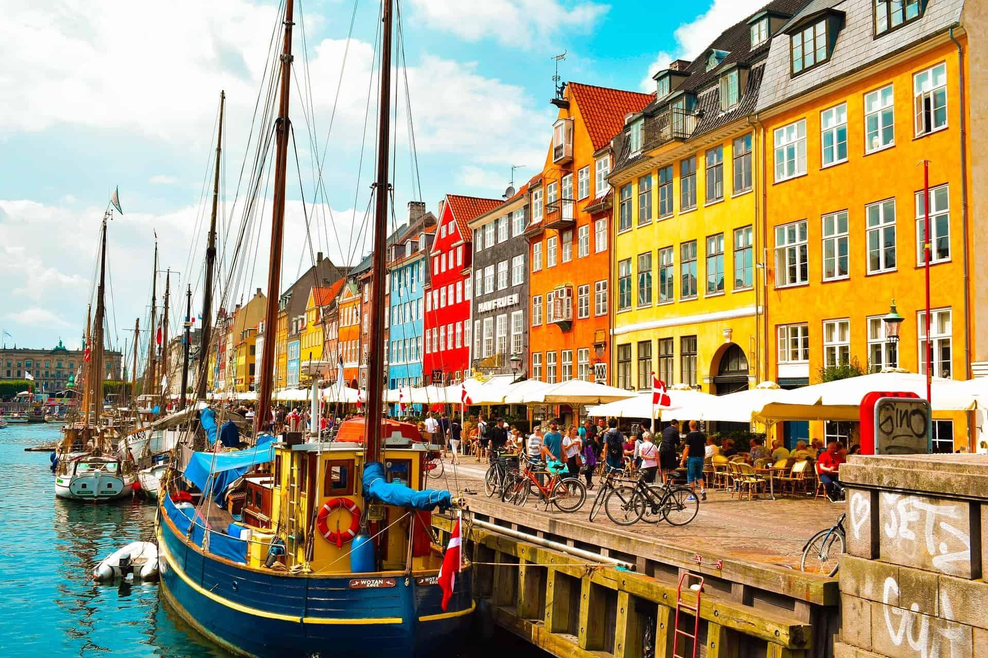 Boutiques gaies à Copenhague