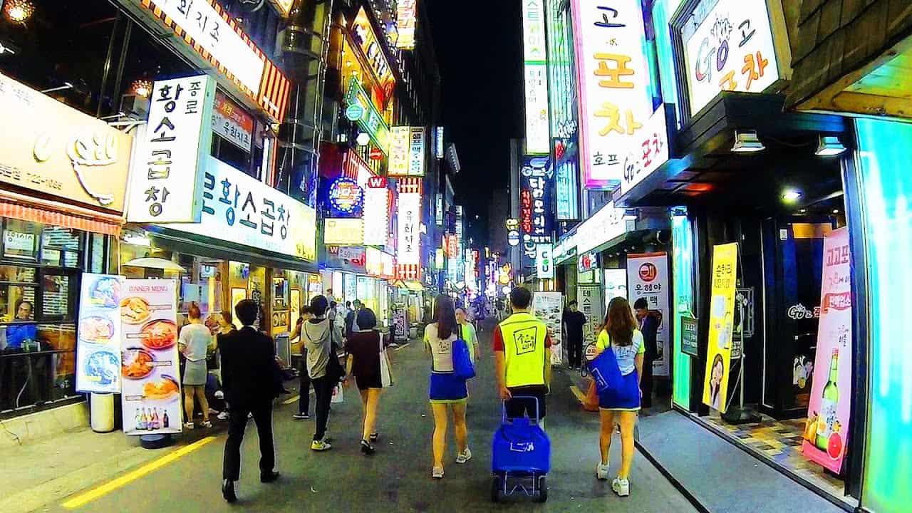 Gay Seoul · Mellemklasse + budgethoteller
