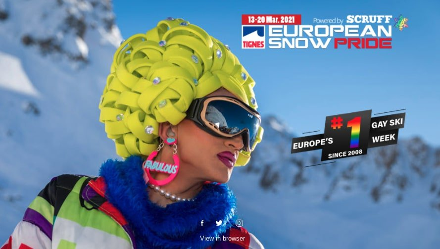 European Snow Pride 2021