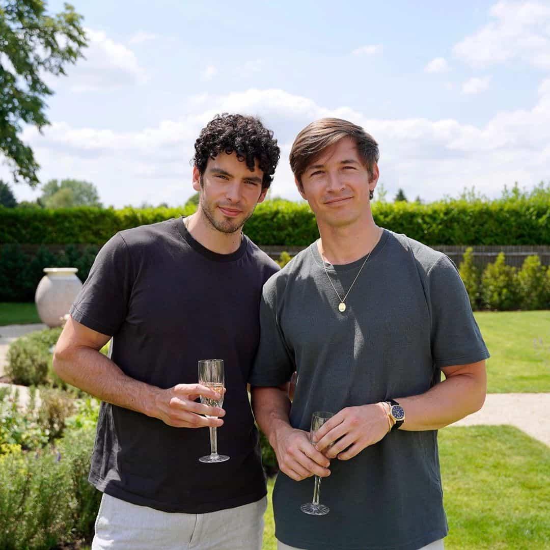 James Longman e il suo ragazzo