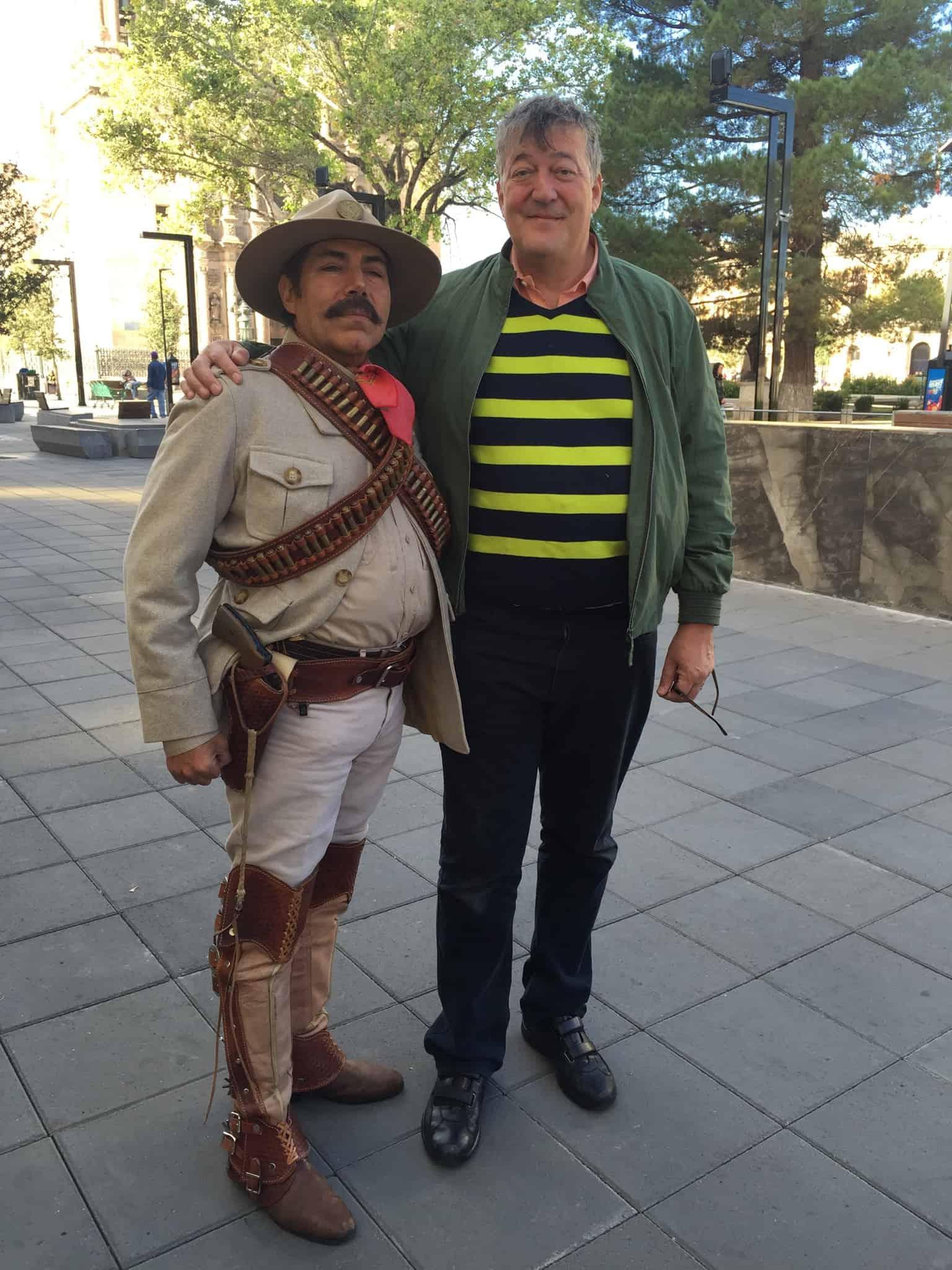 Stephen Fry en América del Sur