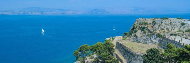 科孚岛的别墅