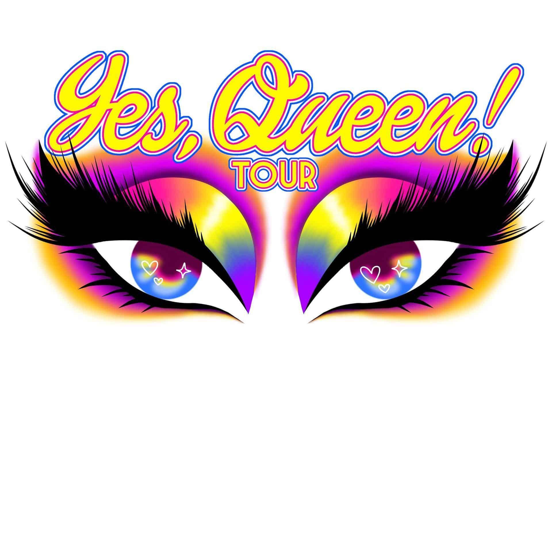 Ναι, βασίλισσα! Περιοδεία