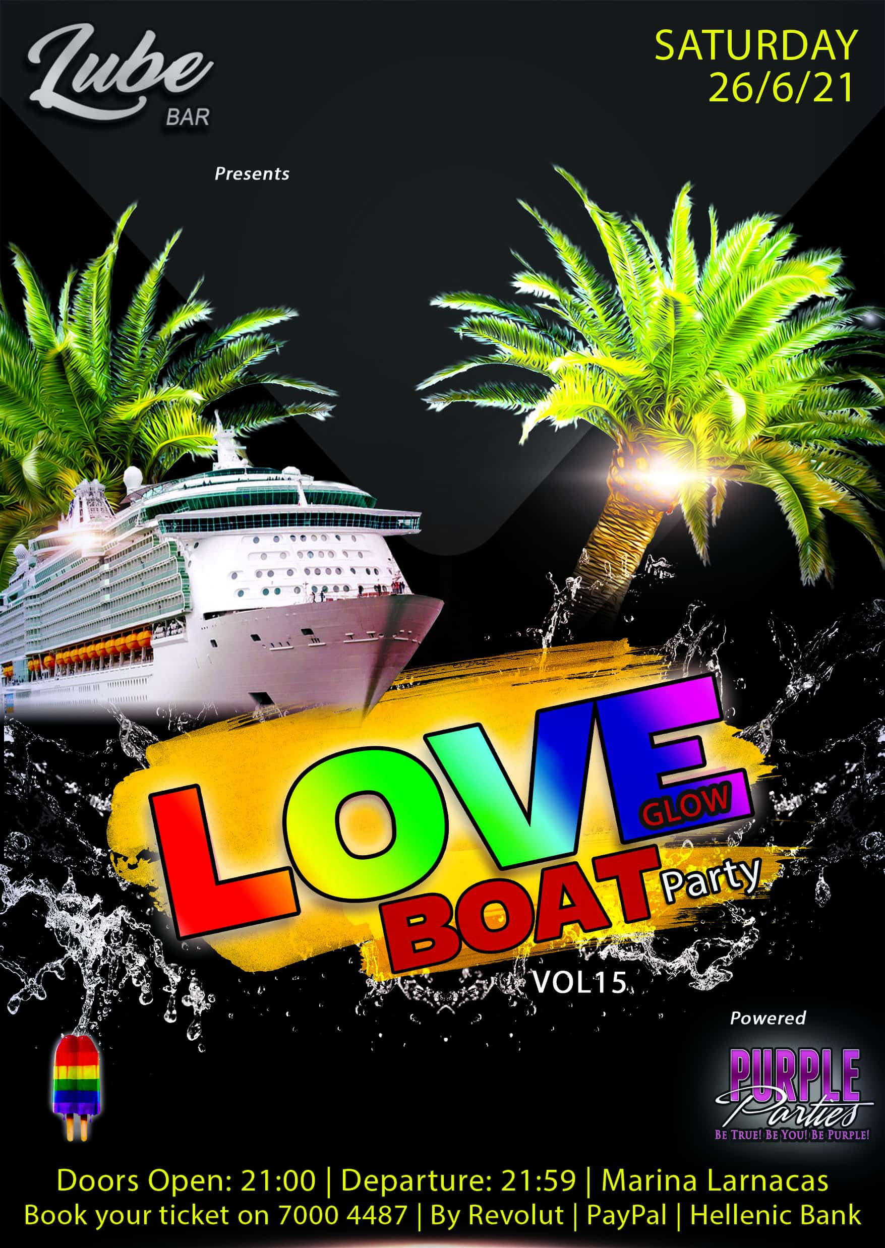 The Love Glow Boat Party