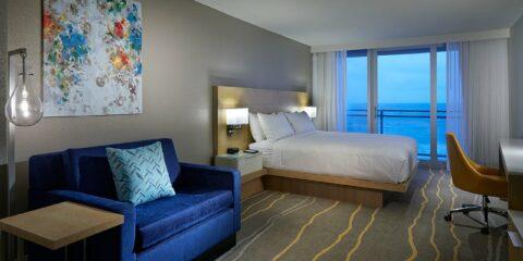 Delta-hoteller ved Marriott Daytona Beach Oceanfront