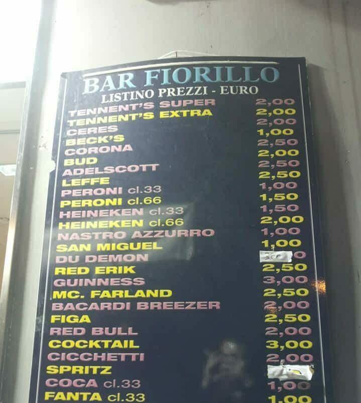 Bar Fiorillo