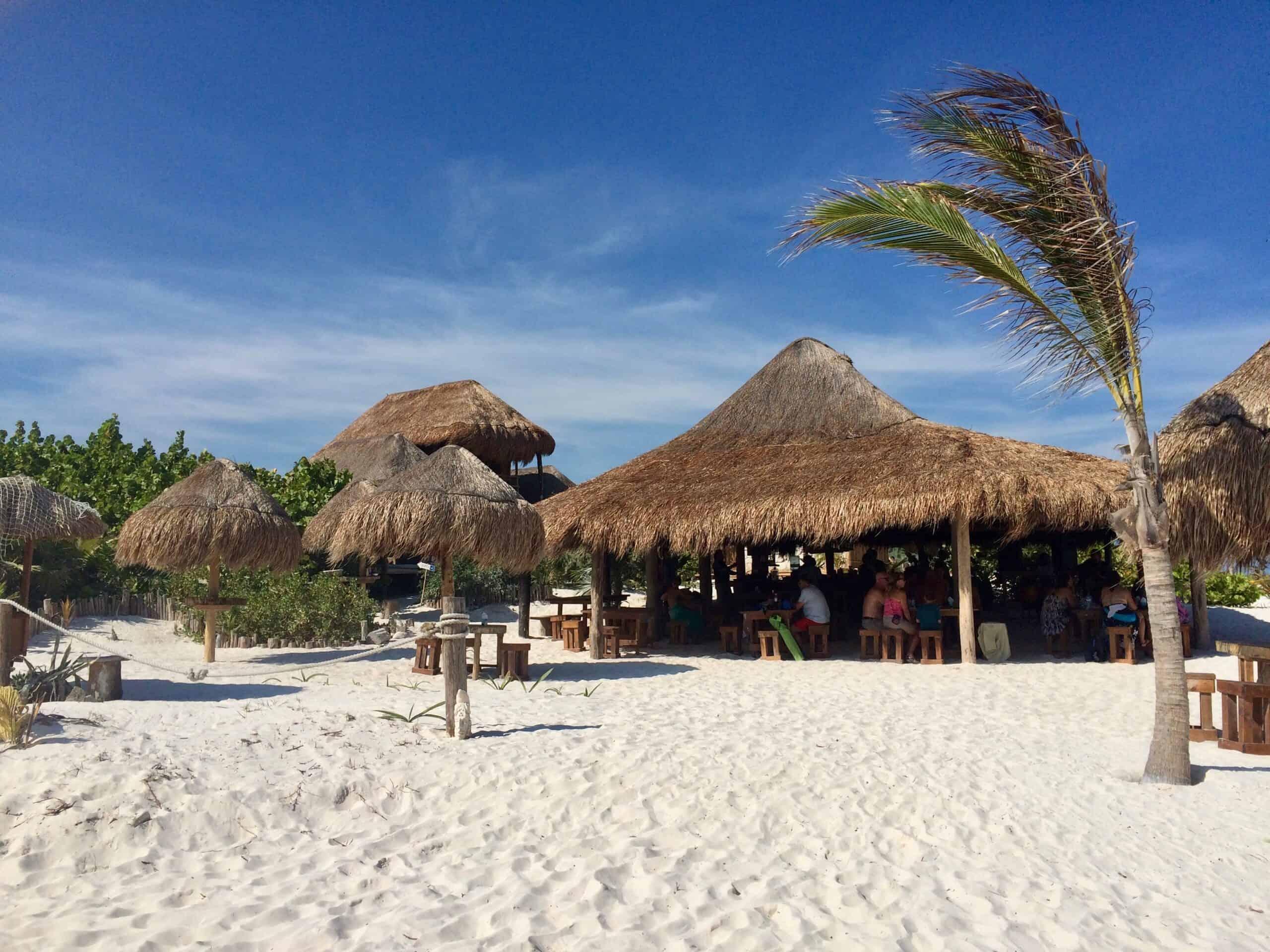 海滩,墨西哥,图卢姆