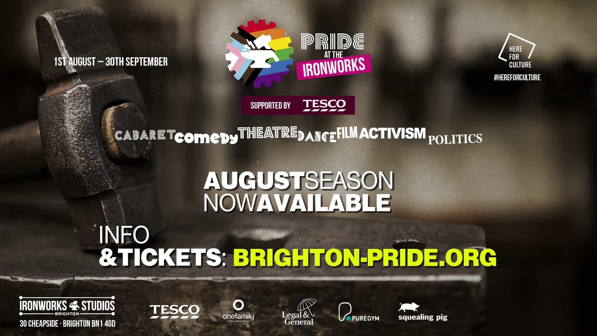 Brighton Pride At The Ironworks 2021