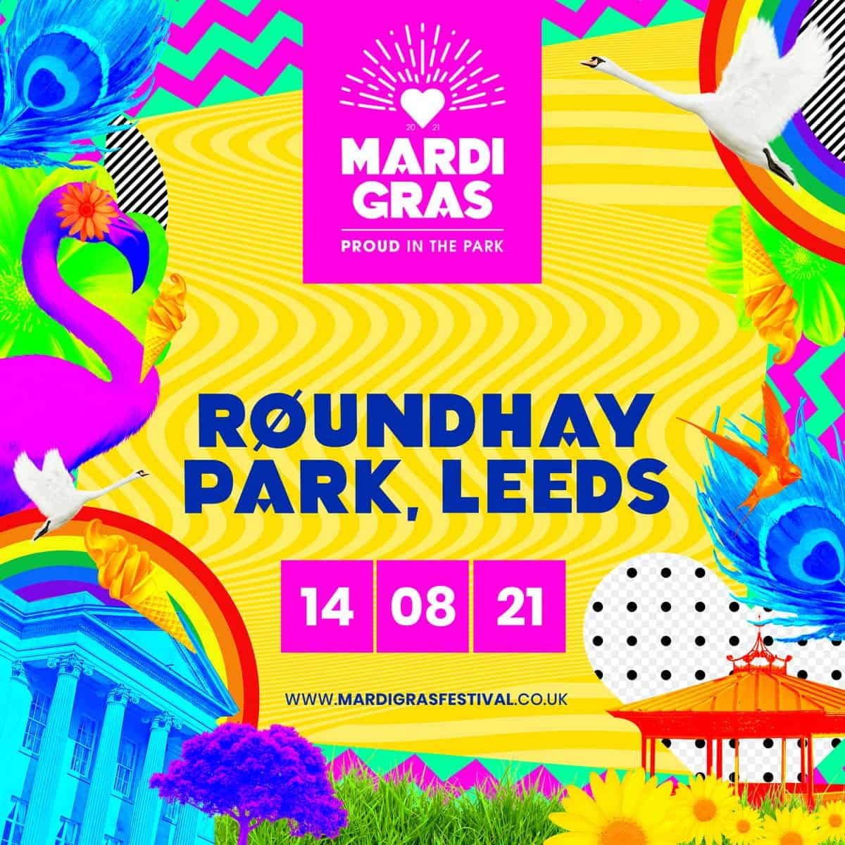 Mardi Gras – Bangga di Taman – Leeds