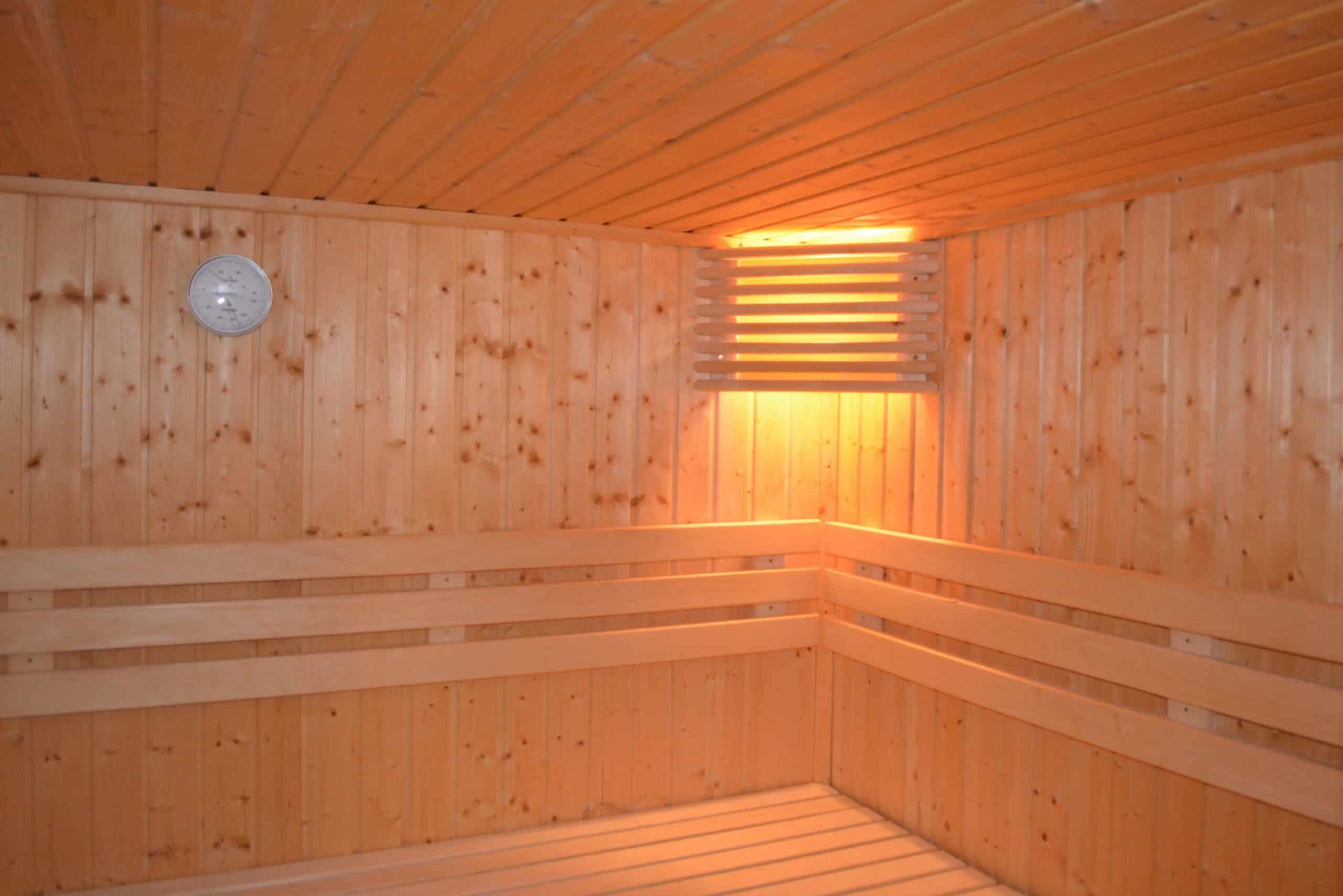 sauna, lamp, heat
