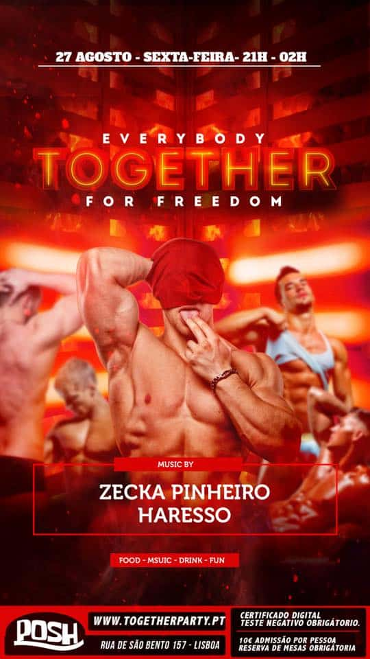 Together Party at POSH Club